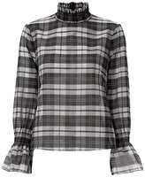 Exclusive for Intermix Lulu Plaid Top