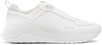 HUGO BOSS Leather Lace-Up Sneakers