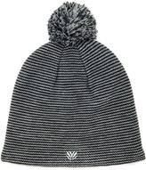 Forever 21 Striped Pom Pom Beanie