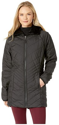 The North Face Mossbud Insulated Reversible Parka (TNF Black) Women's Coat