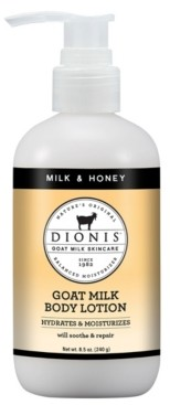 Dionis Goat Milk Body Lotion, Milk and Honey, 8.5 oz