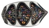 MCL by Matthew Campbell Laurenza Multicolor Sapphire & Enamel Ring w/ Tags