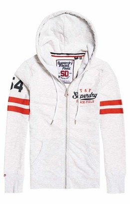 Superdry Women's Track and Field Lite Ziphood Sweatshirt