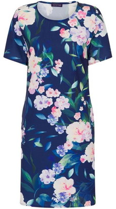 Riviera Hotsquash HotSquash Short Sleeve Crepe Dress