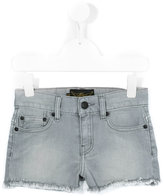 Finger In The Nose frayed denim shorts - kids - Cotton/Spandex/Elastane - 8 yrs