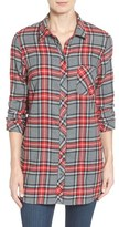 KUT from the Kloth Women's 'Collin' Plaid Flannel Shirt