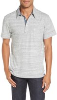 Faherty Trim Fit Jersey Polo