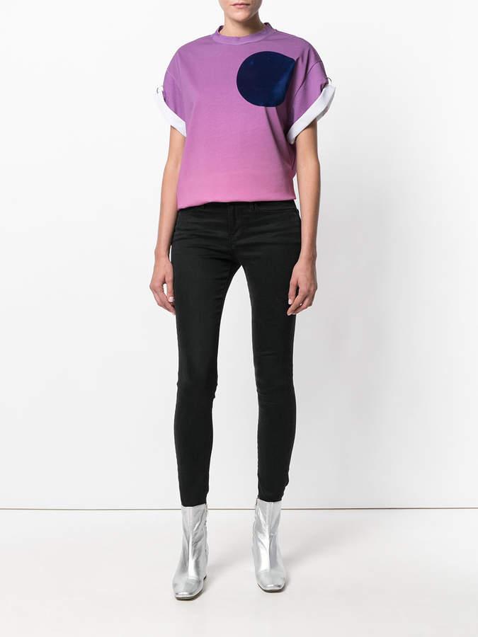 3.1 Phillip Lim planet printed T-shirt