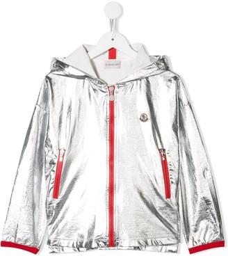 Moncler Enfant Contrast Piped Jacket
