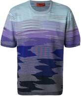Missoni shaded striped T-shirt