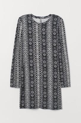 H&M Dress with shoulder pads