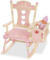 Levels of Discovery Rock-A-My-Baby Rocking Chair in Pink