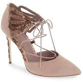 Ted Baker Women's 'Mallai' Lace-Up D'Orsay Pump
