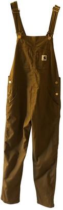 Carhartt Wip Camel Cotton Jumpsuit for Women