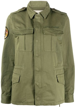 Zadig & Voltaire Kayak multi-pocket military jacket