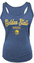 5th & Ocean Women's Golden State Warriors Outline Tank Top