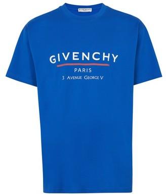 Givenchy Oversized address logo T-shirt