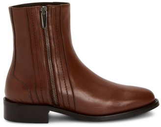 Aquatalia Narina Leather Ankle Boots
