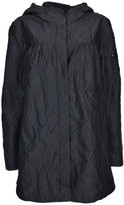 Moncler Gamme Rouge Paisley Pattern Raincoat