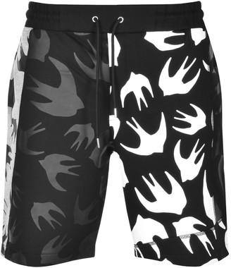 McQ Sweat Shorts Black
