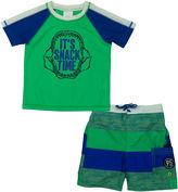 Osh Kosh Oshkosh Stripe Rash Guard Set - Toddler
