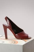 Michel Vivien Rea leather sandals