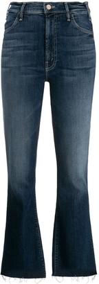 Mother The Hustler frayed jeans