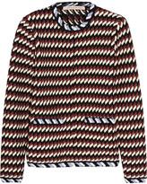 Christopher Kane Jacquard-knit jacket