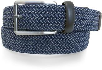 Apt. 9 Men's Navy Elastic Belt