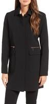 Kenneth Cole New York Women's Bb Dakota Zip Pocket A-Line Coat