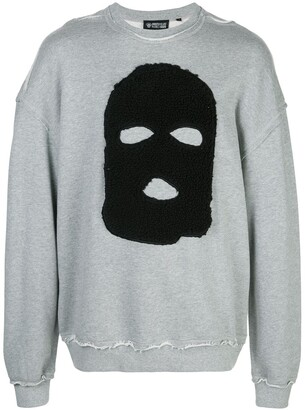 Mostly Heard Rarely Seen Hide and Seek print sweatshirt