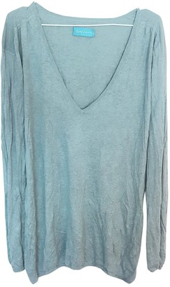 Zadig & Voltaire Turquoise Silk Knitwear for Women