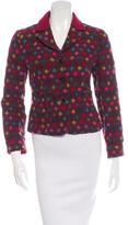 Etro Wool Jacquard Jacket