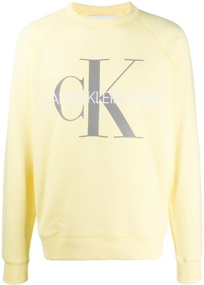 Calvin Klein Jeans Embroidered Logo Sweatshirt1