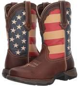 Durango Lady Rebel Flag Steel Toe Cowboy Boots