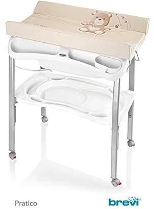Practical Baby Bathtub and Changing Table, Unisex Turtledove