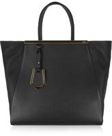Fendi 2jours Large Textured-leather Shopper - one size