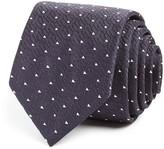 BOSS Geometric Triangle Skinny Tie