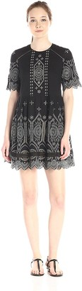 French Connection Women's Josephine Cotton Dress
