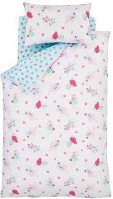 Catherine Lansfield Fairies Junior Duvet Cover and Pillowcase Set