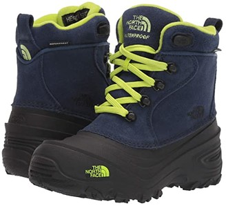 The North Face Kids Chilkat Lace II (Toddler/Little Kid/Big Kid) (Cosmic Blue/Lime Green) Kids Shoes