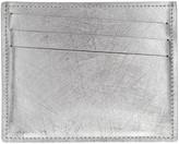 Maison Margiela Silver Scratched Card Holder