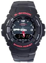 Casio Men's G-Shock Black with Red Detail Analog-Digital Watch