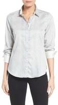 Foxcroft Print Sateen Shirt