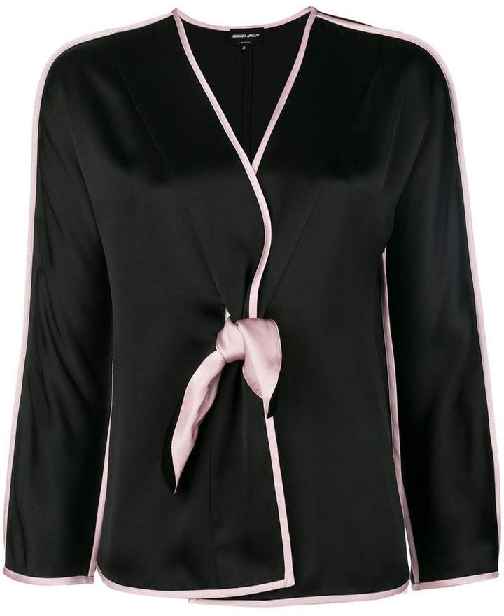 Giorgio Armani pyjama style blouse