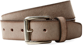 Berge Men's Faded Suede Belt