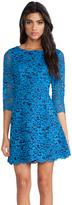 Shoshanna Celestial Lace Miranda Dress