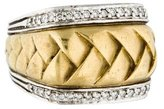 Scott Kay Two-Tone Diamond Woven Ring