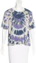 Raquel Allegra Tie-Dye Short Sleeve T-Shirt w/ Tags