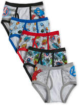 Marvel Boys 4-7) 5-Pack Avengers Briefs